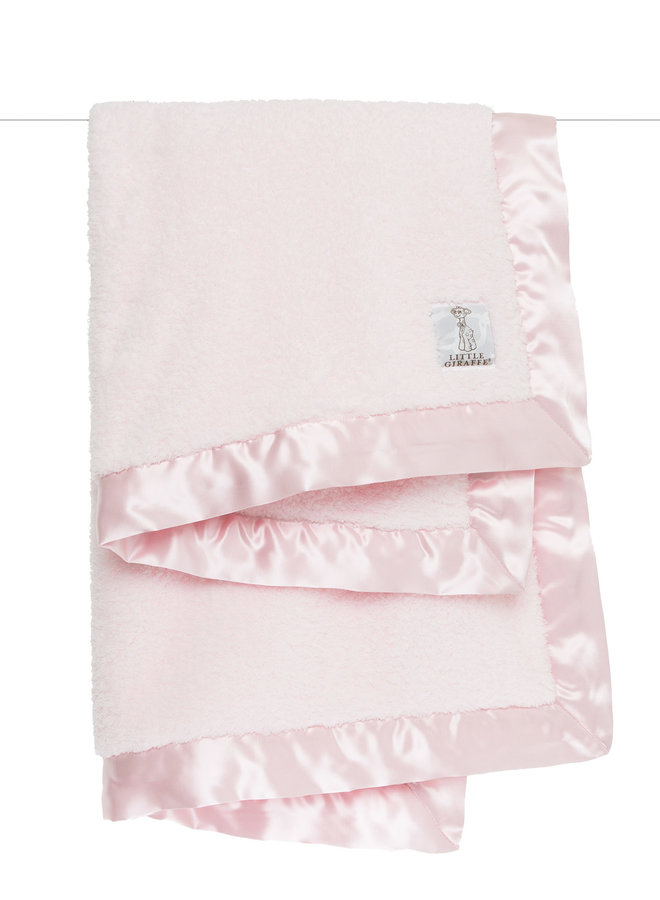 Chenille Blanket - Pink