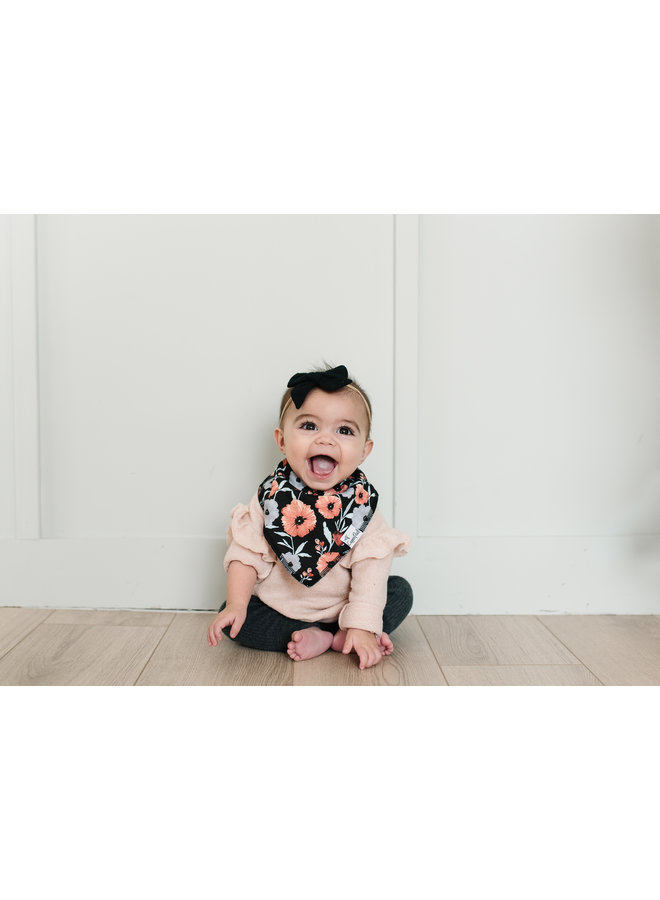 Dot Baby Bandana Bib Set (4-pack)