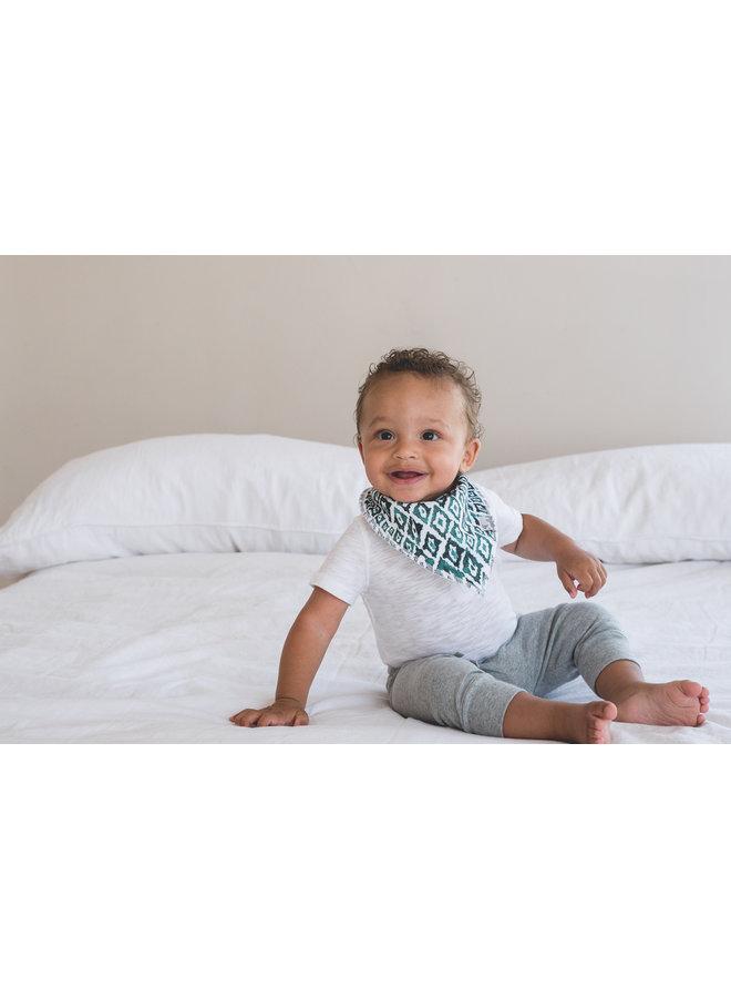 Bison Baby Bandana Bib Set (4-pack)