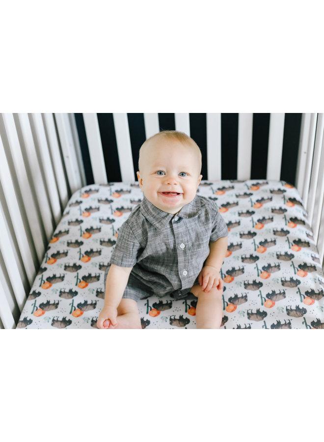 Bison Premium Crib Sheet