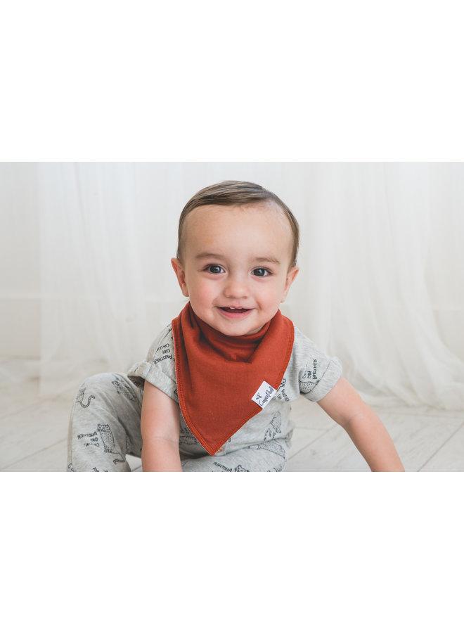 Ridge Baby Bandana Bib Set (4-pack)