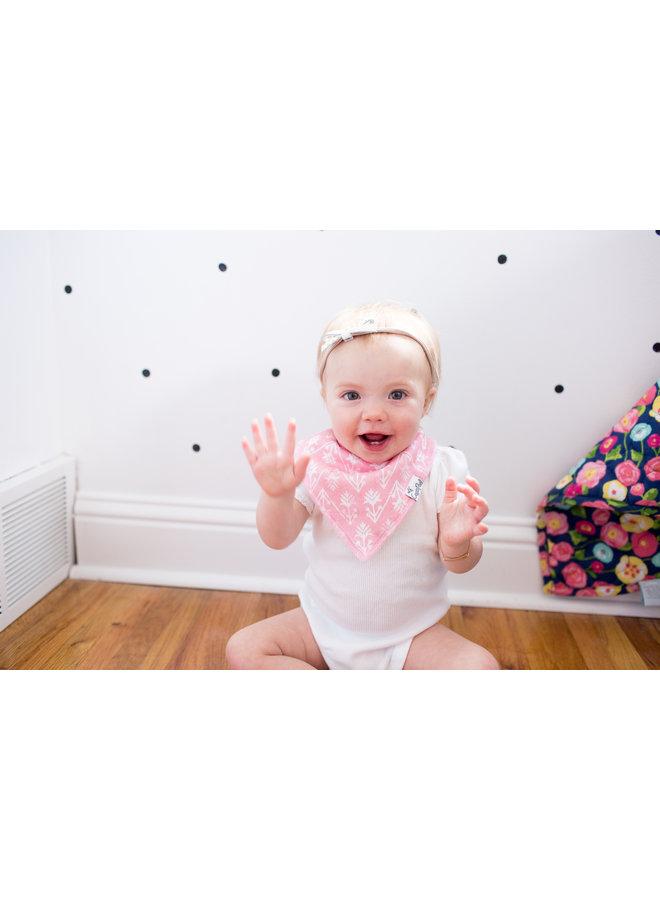 Claire Baby Bandana Bib Set (4-pack)