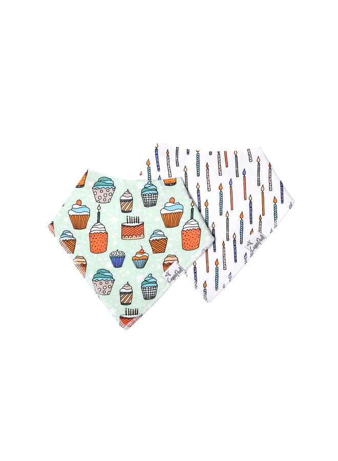 Confetti Baby Bandana Bib Set (2-pack)