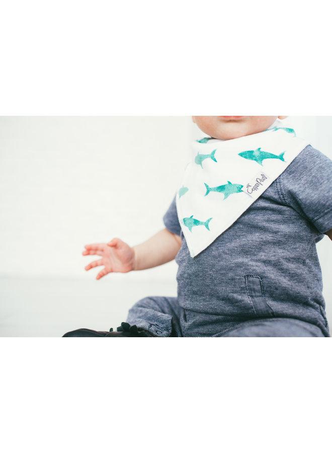 Pacific Baby Bandana Bib Set (4-pack)