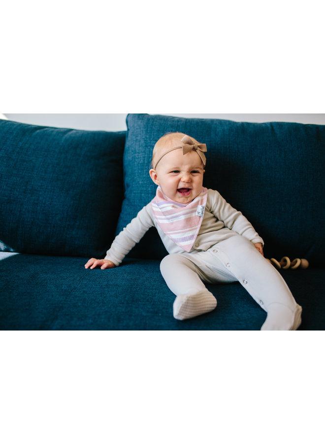 Sage Baby Bandana Bib Set (4-pack)