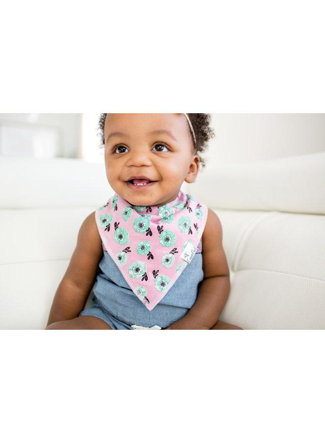 Bloom Baby Bandana Bib Set (4-pack)