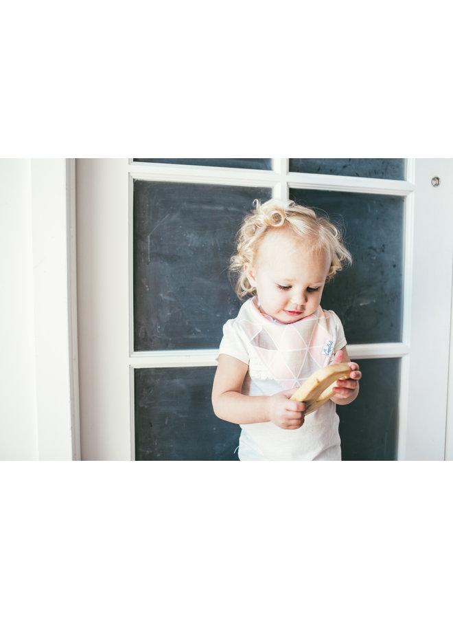 Blush Baby Bandana Bib Set (4-pack)