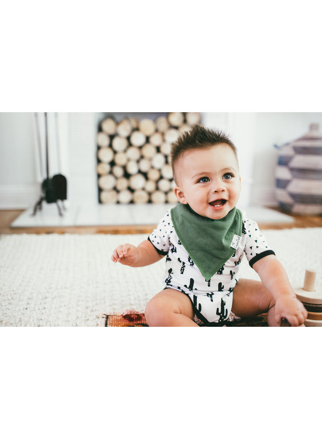Jackson Baby Bandana Bib Set (4-pack)