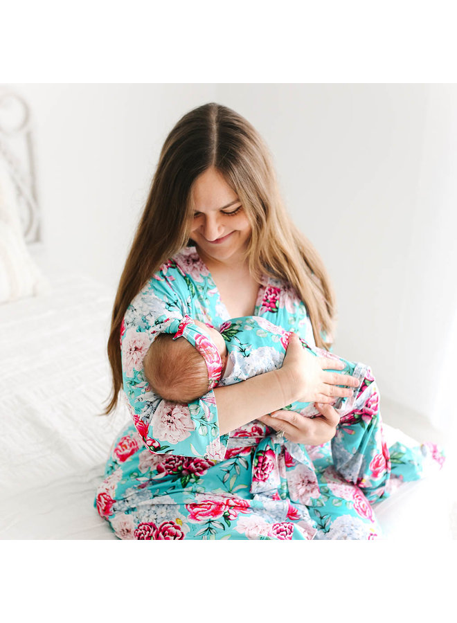 Eloise - Infant Swaddle and Headwrap Set