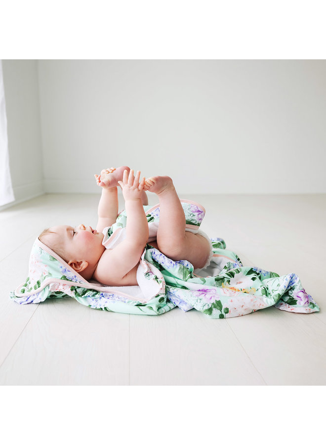 Erin - Ruffled Hooded Towel