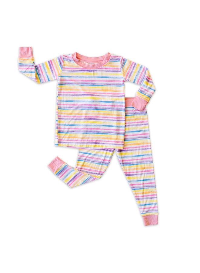 Sunrise Stripe Pajama