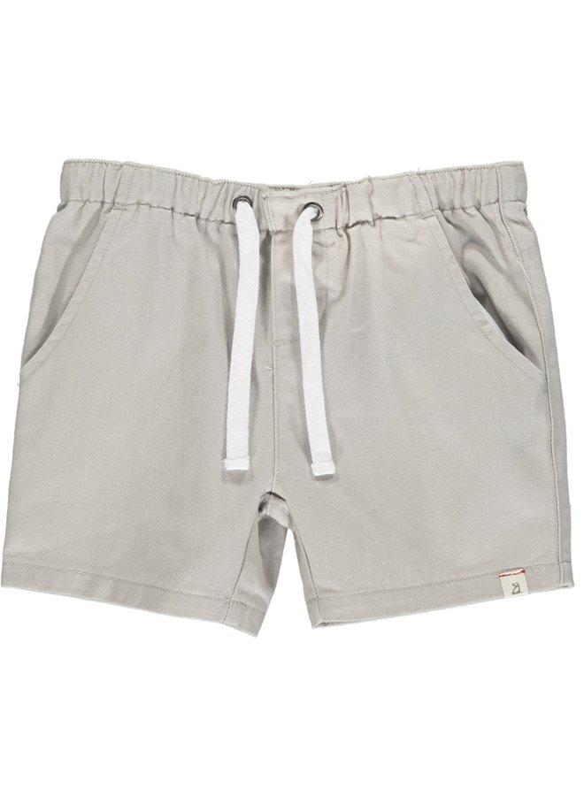 HUGO twill shorts - Pale Grey