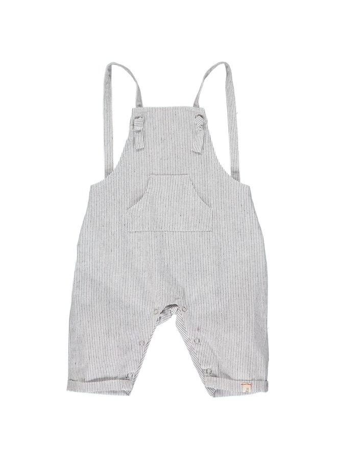 AHOY shortie overalls - Pale Grey
