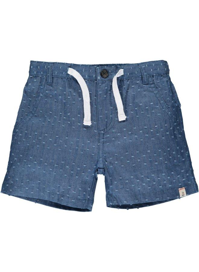 CREW shorts - Textured Chambray