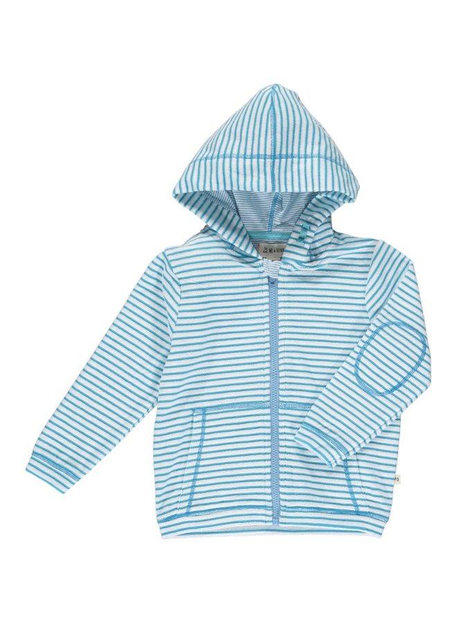 PADSTOW Towelling hooded top