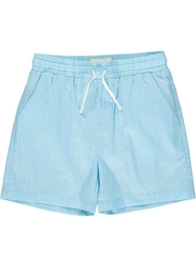 SURF swim shorts - Aqua Micro Stripe