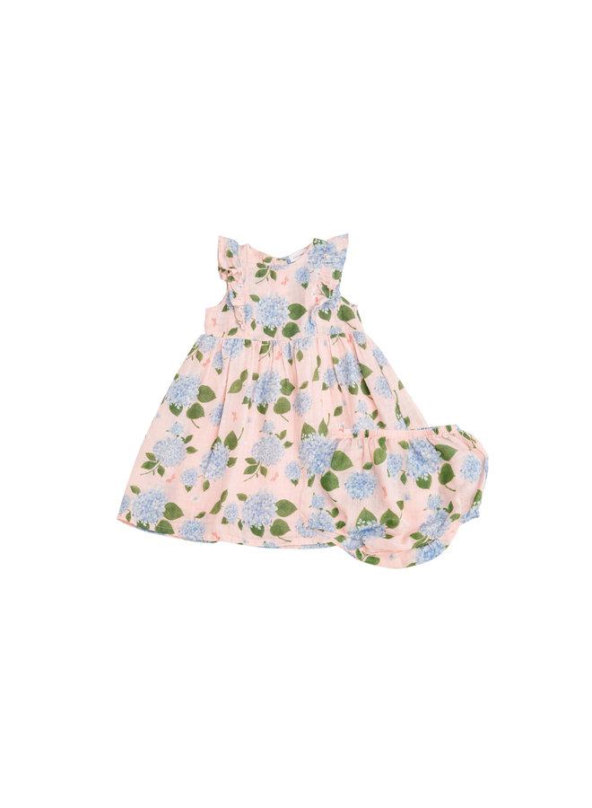 Hydrangea Dress - Pink