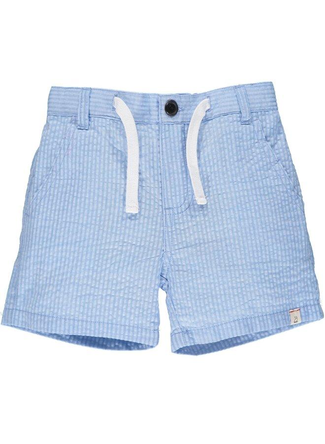 CREW shorts - Pale Blue Seersucker
