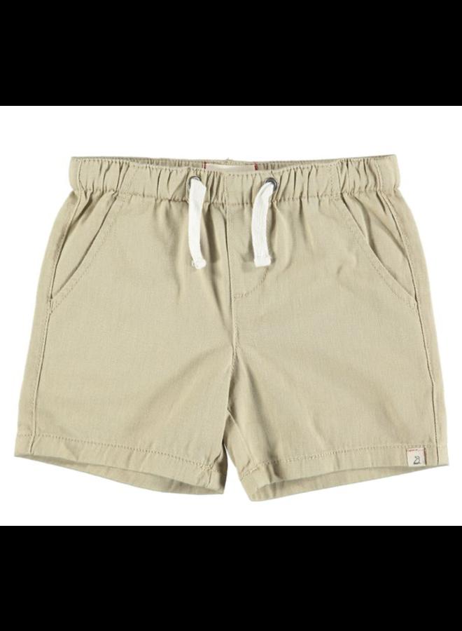 HUGO Twill Shorts - Stone