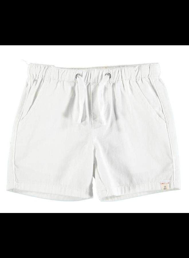 HUGO Twill Shorts - White