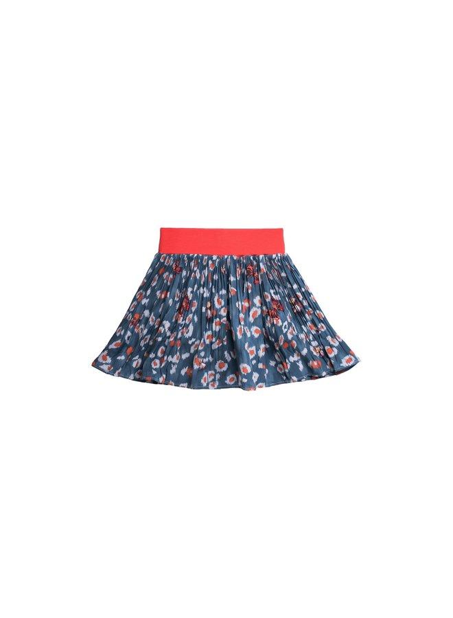 Printed Woven Skirt - Flutter