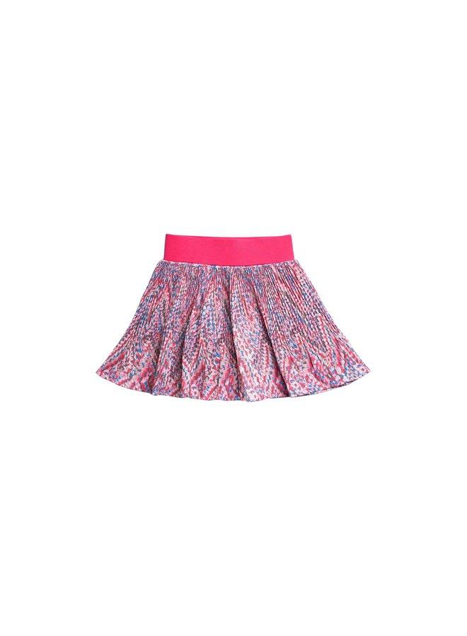 Printed Woven Skirt - Malta