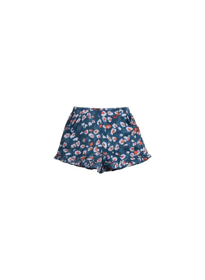 Printed Woven Shorts - Flutter