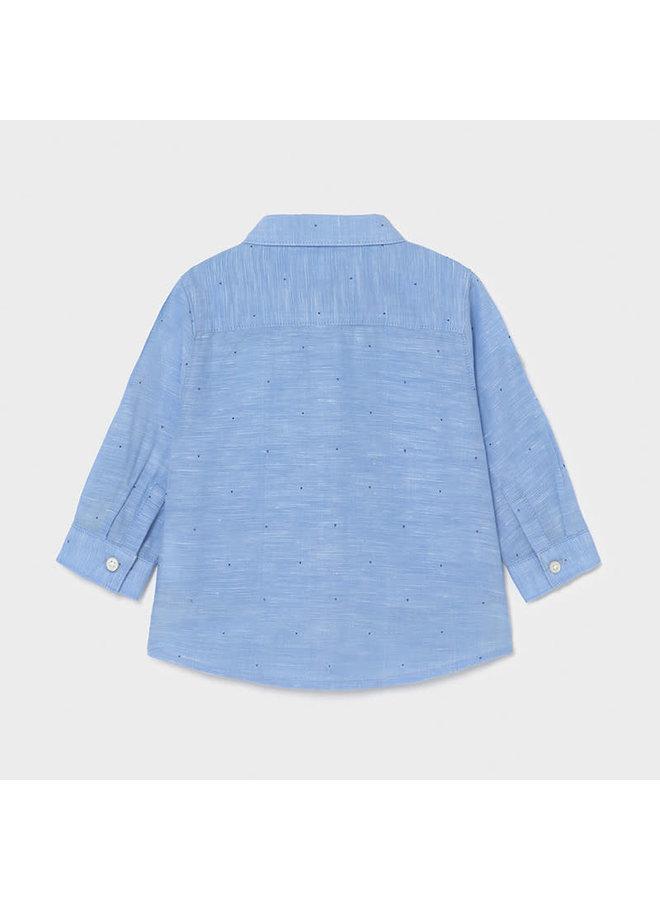 Basic Linen LS Shirt - Lavendar