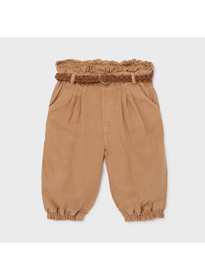 Flowy Long Pants - Caramel