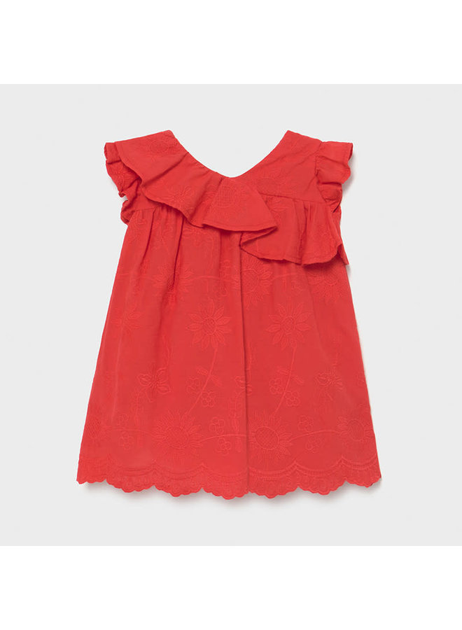 Embroidered Dress - Poppy