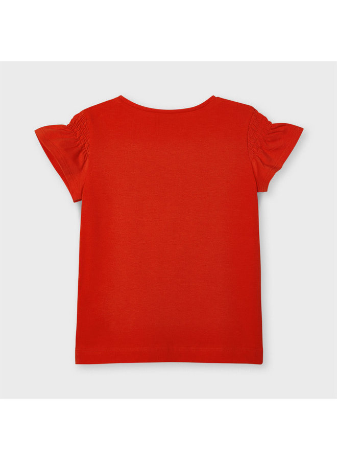 SS T-Shirt - Persimmons