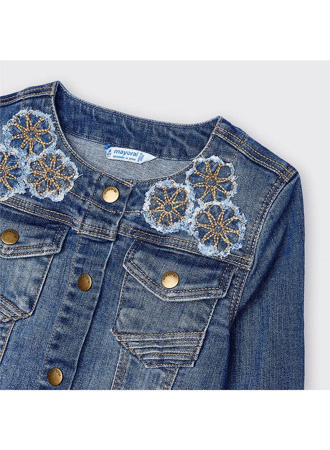 Aplique Denim Jacket - Medium