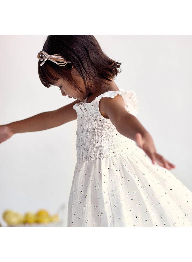 Printed Dress - Natural