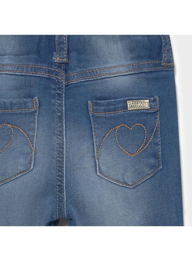 Basic Denim Pants - Medium