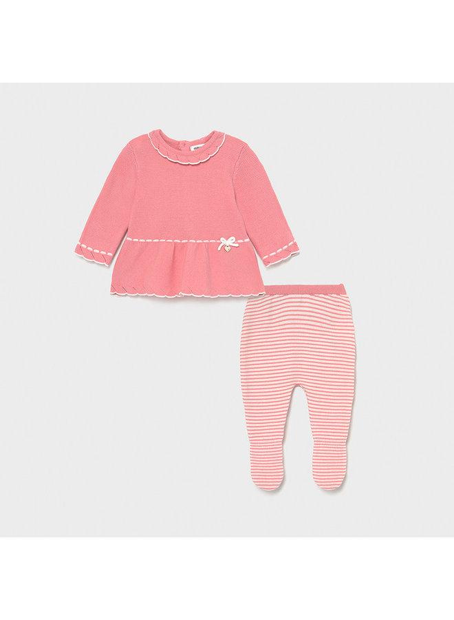Knit Leg Warmer Set - Pink