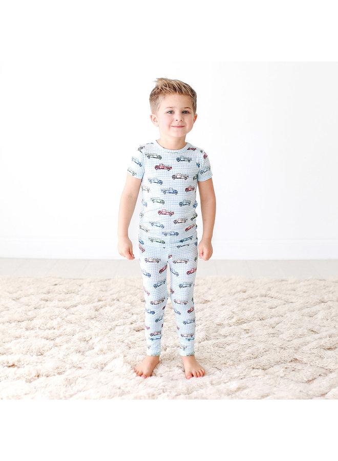 Redford - Short Sleeve Pajamas