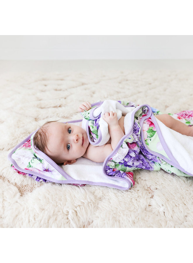 Georgina - Ruffled Hooded Towel