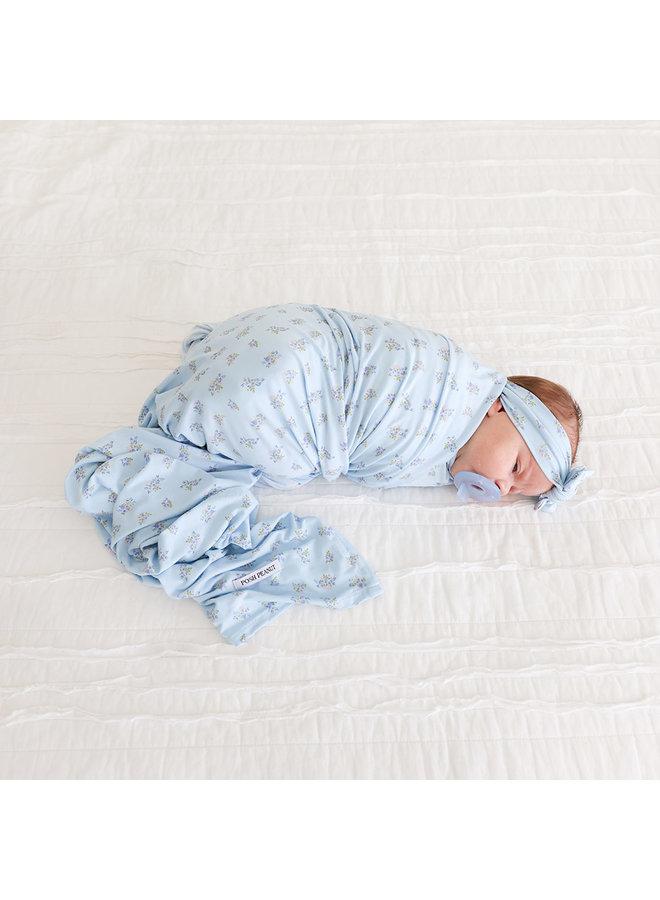 Grace - Infant Swaddle & Headwrap Set