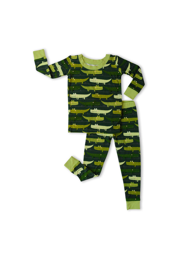 Green Crocodiles Pajama