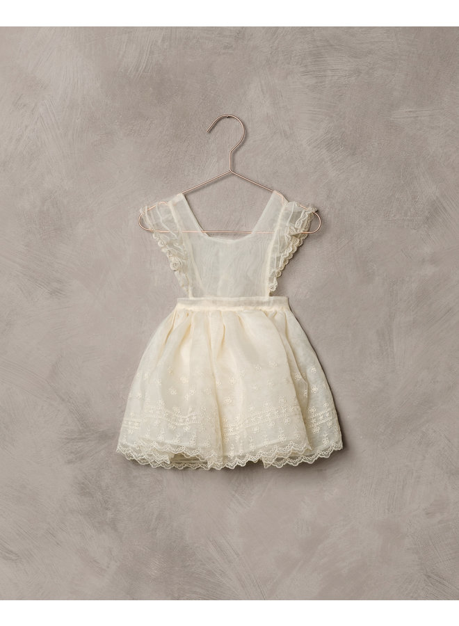 Provence Dress w.bodysuit - Ivory