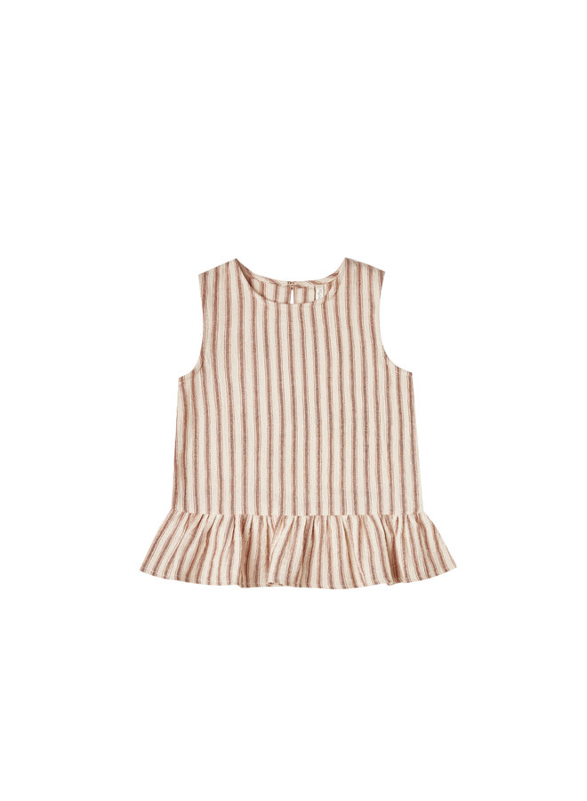 Striped Carrie Blouse - Amber