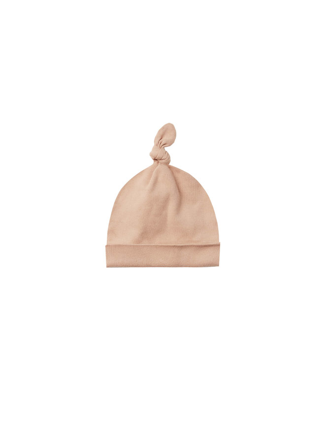 Knotted Baby Hat - Petal
