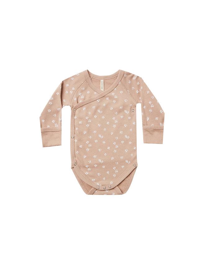 Kimono Onesie - Blossom Petal