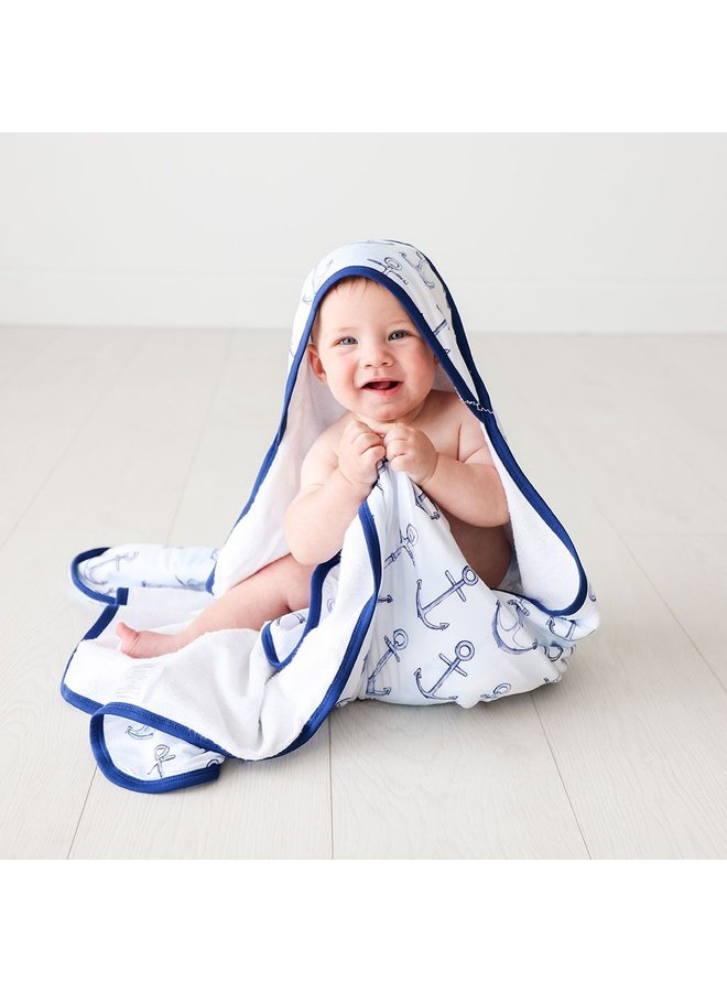 Anchors Away - Hooded Towel