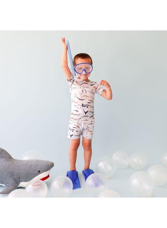 Maverick - Basic Short Sleeve & Short Length Pajama
