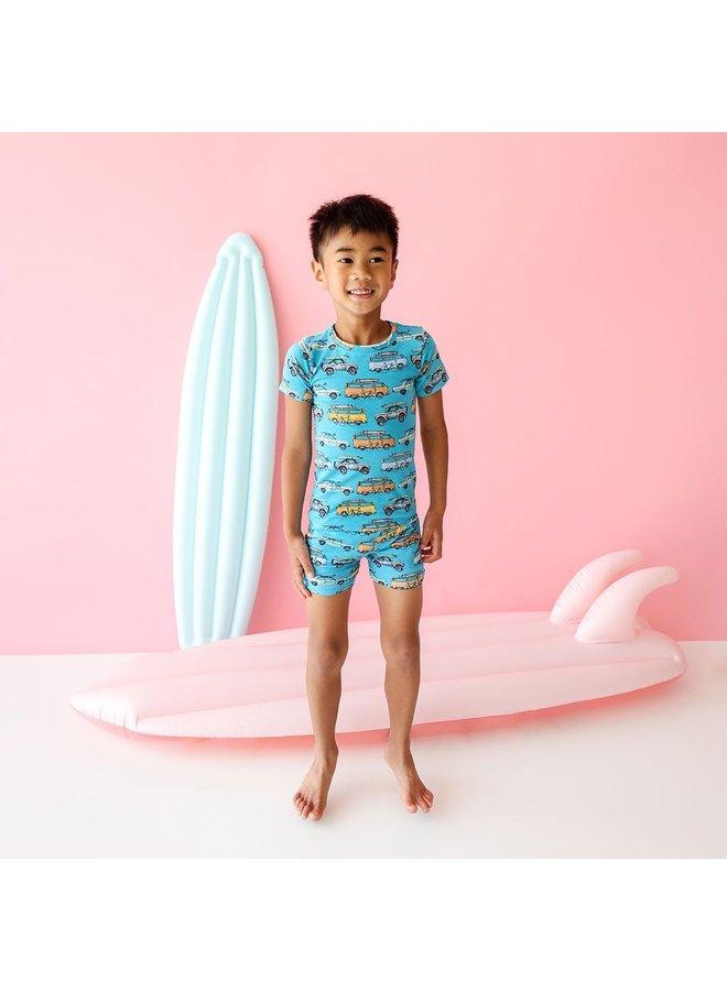 Marino - Basic Short Sleeve and Short Length Loungewear