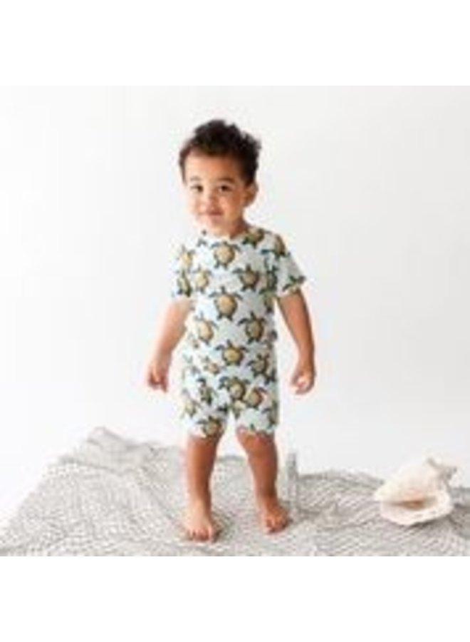 Cruz - Basic Short Sleeve and Short Length Loungewear
