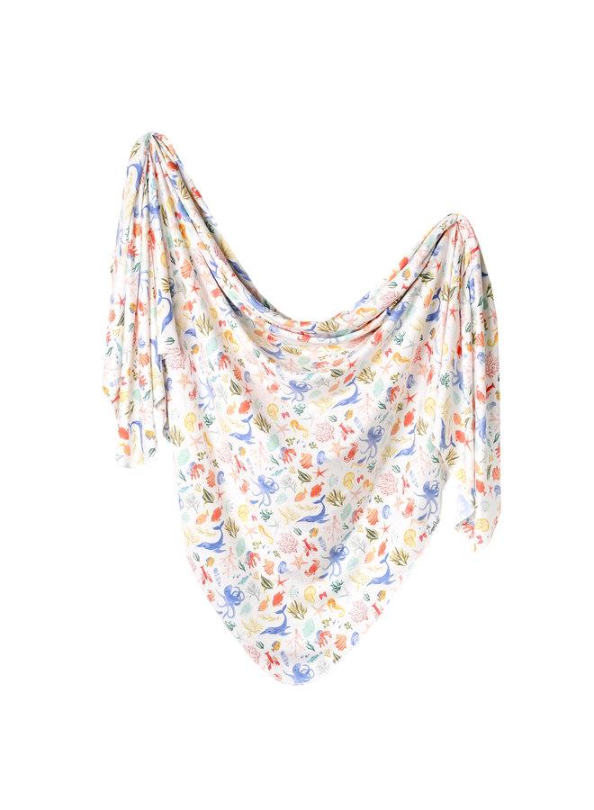 Nautical Knit Blanket Single