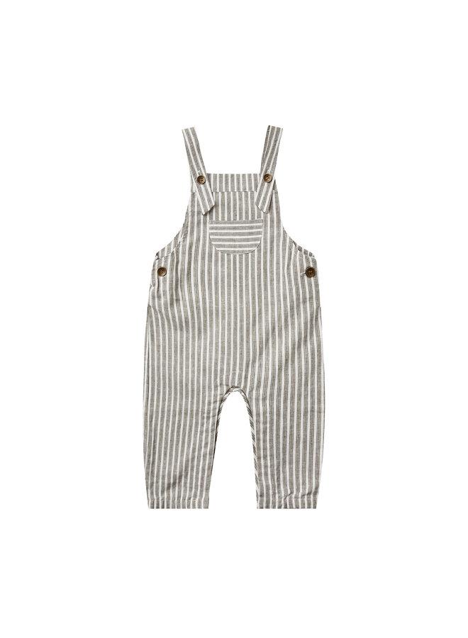 Baby Overalls - Railroad Stripe