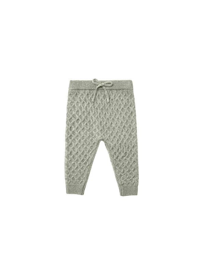 Knit Gable Pant - Agave